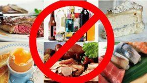 Опасные продукты при эпилепсии